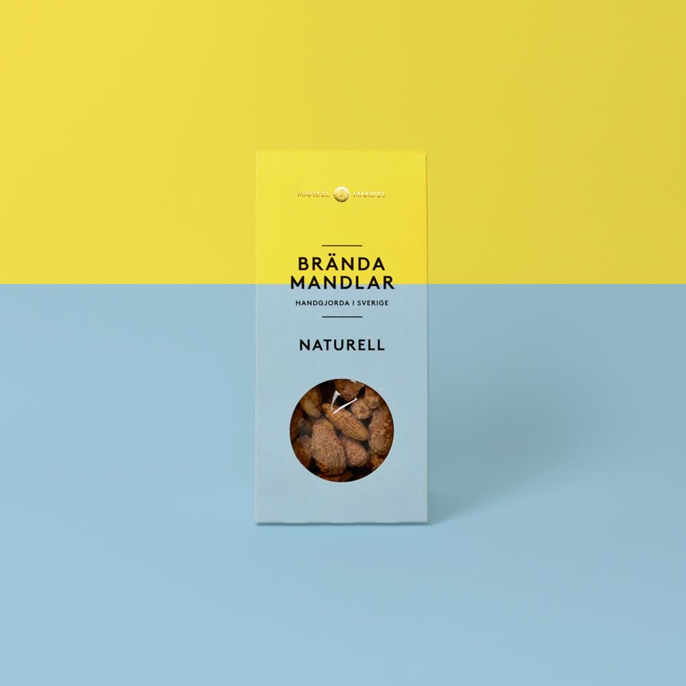 Brända mandlar naturell