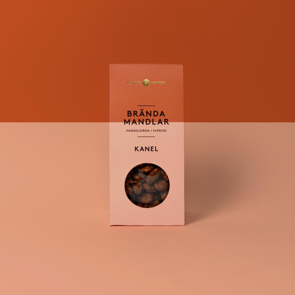 Brända mandlar kanel